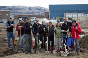 Butcherknife Brewing Company Groundbreaking ceremony
