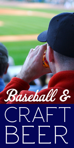 baseball and craft beer