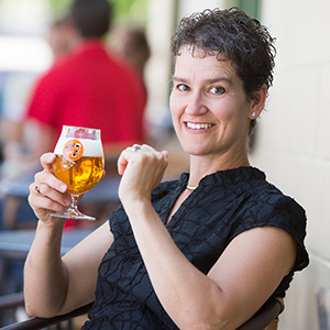 Ginger Johnson Founder and Owner of Women Enjoying Beer