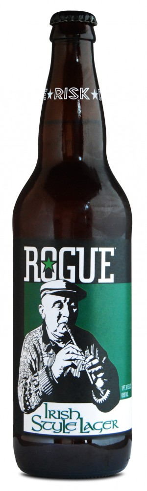 Rogue Irish Lager is back for a limited time in 2013 as the craft beer choice for St. Patrick's Day.