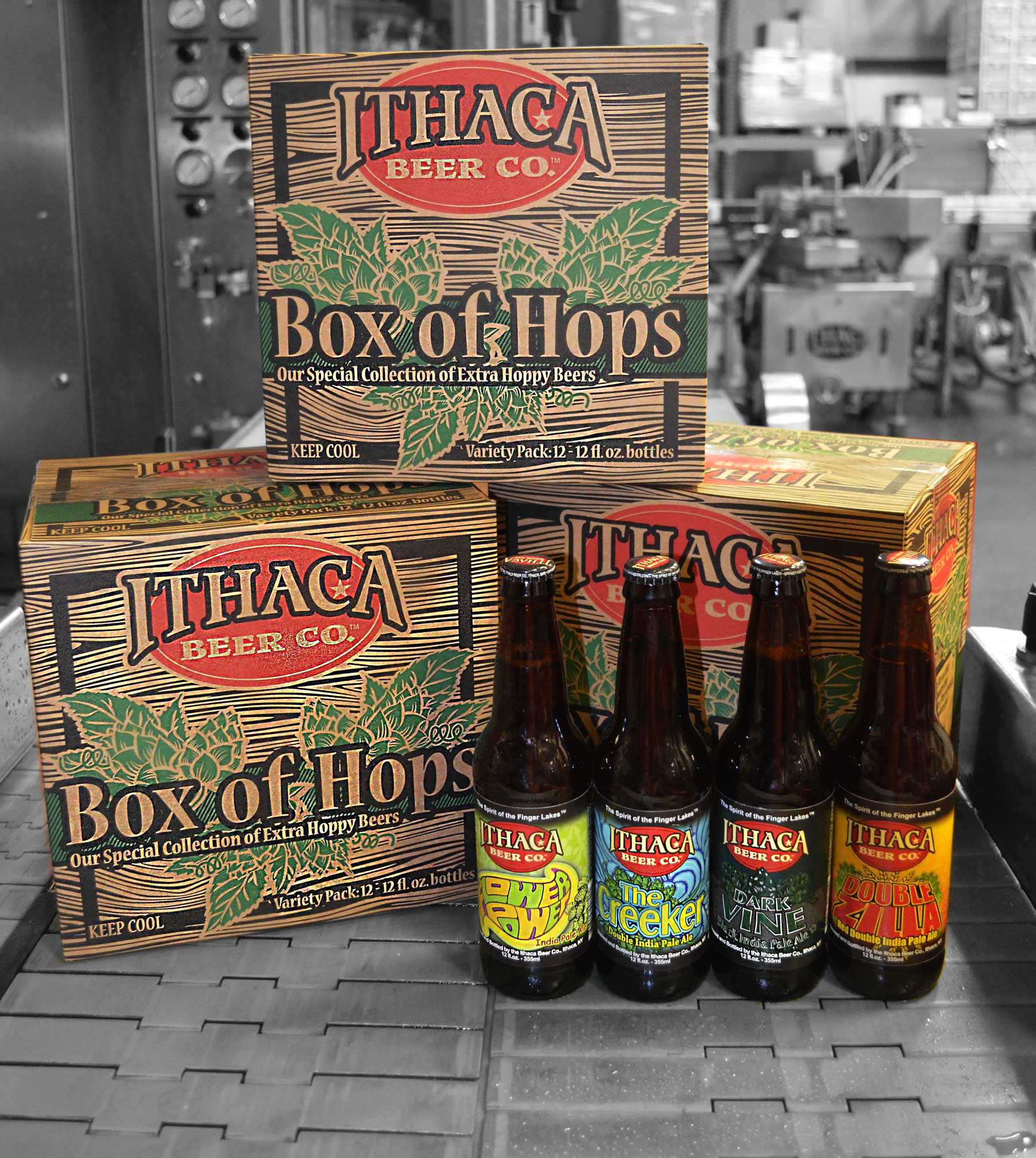 Introducing Ithaca Beer s latest hoppy release Box of Hops variety pack