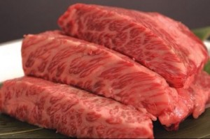 Texas T Kobe follows tradition by feeding their wagyu cattle Saint Arnold beer to promote good digestion and improve the flavor and texture of their meat.