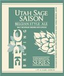 Utah Sage Saison | Epic Brewing Company