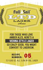 Full Sail LTD 05 Vienna Lager | Full Sail Brewing Company