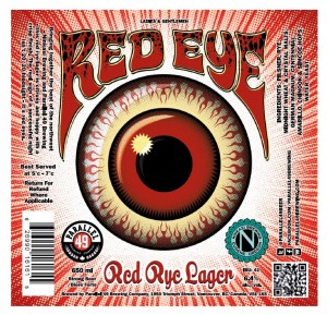 RED EYE LABEL