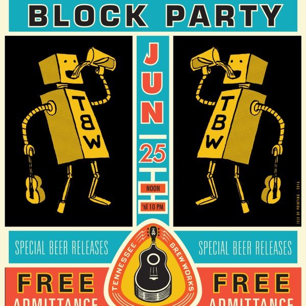 Tennessee Brew Works: BLOCK PARTY 2016