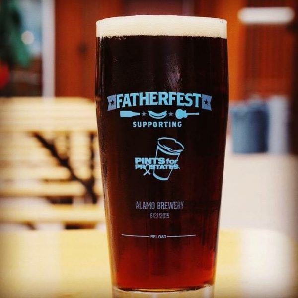 Fatherfest Pint Glass
