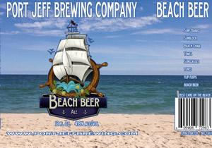 Port Jeff Beach Beer