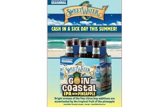 SweetWater Goin' Coastal IPA