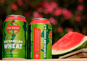 Tin Roof Brewing Not Too Sweet Watermelon Wheat