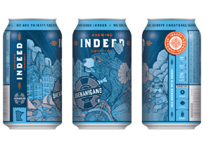 Indeed Brewing Shenanigans Summer Ale