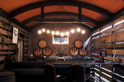 AleSmith Brewing Co.'s new oak-aged tasting and blending bar, Anvil & Stave: A Barrel-Aged Beer Experience