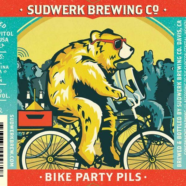 Bike Party Pils label