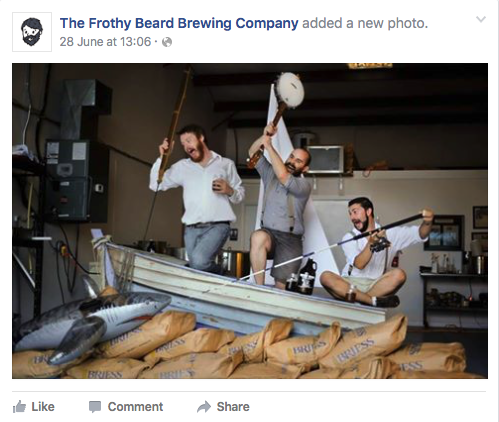 Frothy Beard Brewing