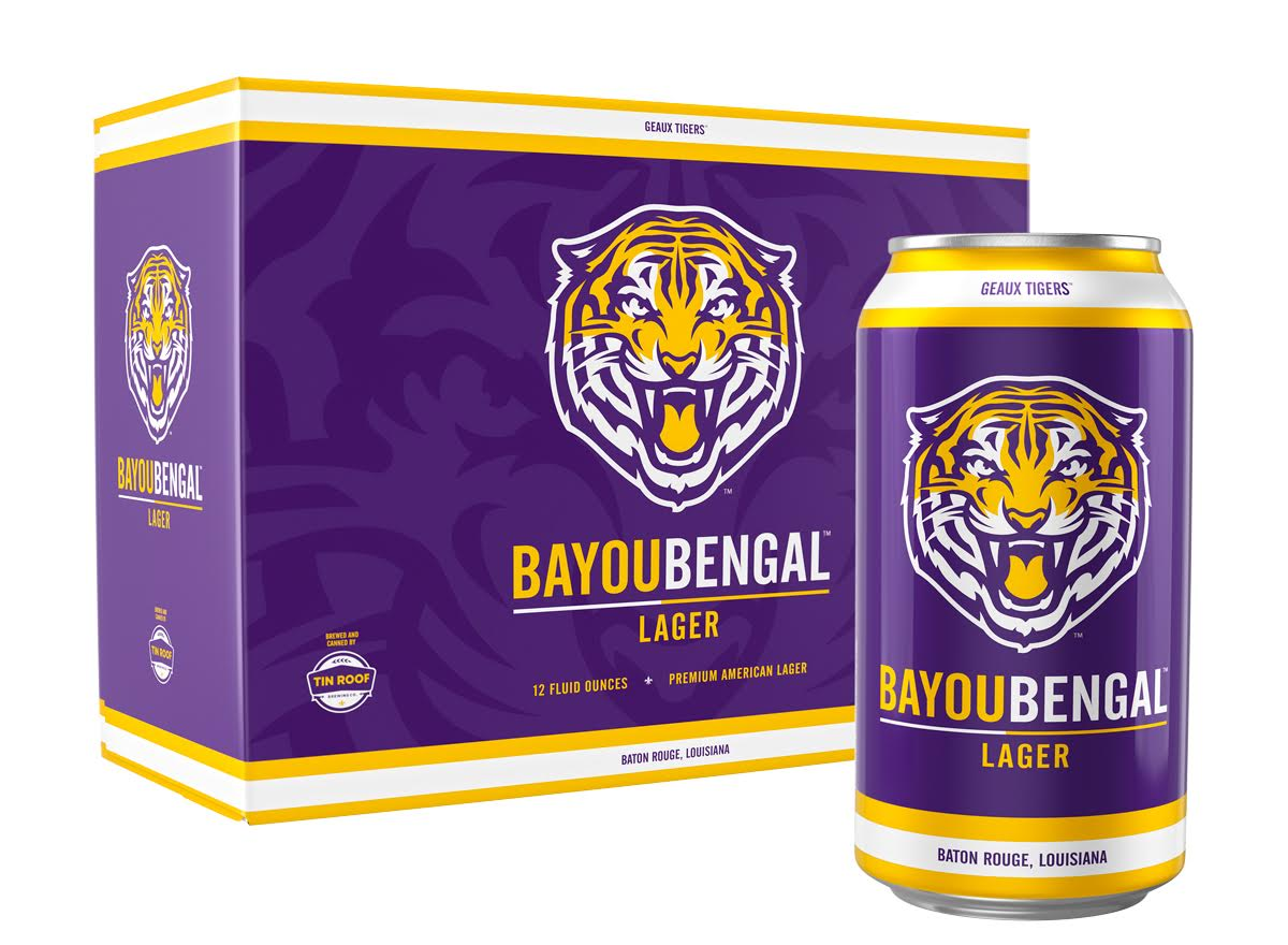 Tin Roof Brewing Company Releases The Artwork For Bayou Bengal Lager