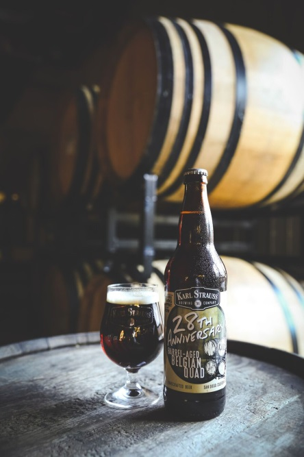 Karl Strauss 28th Anniversary Barrel-Aged Belgian Quad