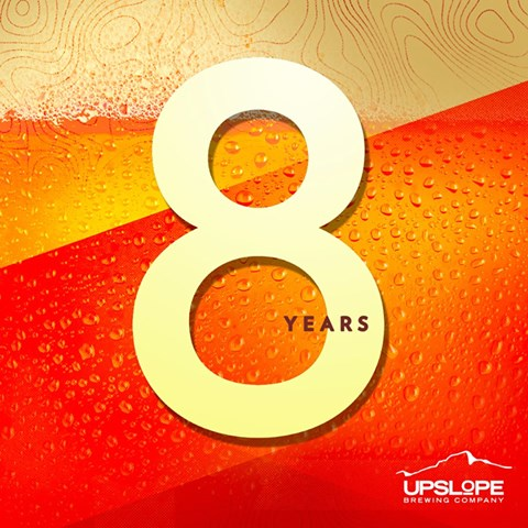 Upslope 8 Year Party