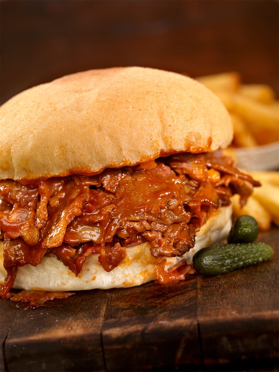 Amber Ale Barbecue Beef