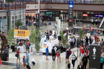 Denver international airport craft beer
