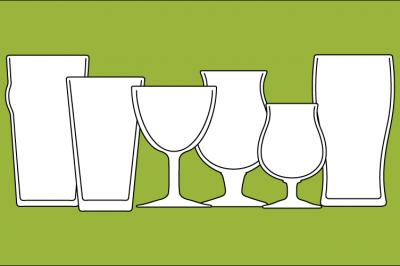 Beer Glassware Features