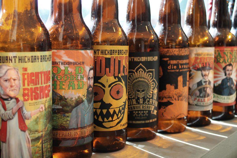 Burnt Hickory bottles