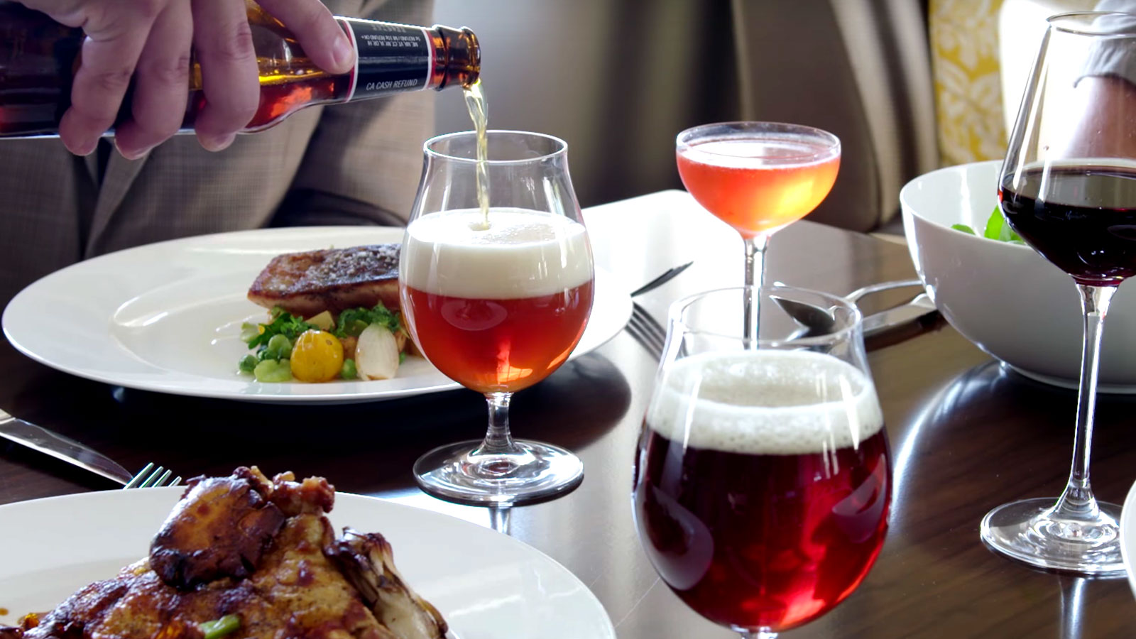 Beer food course for Craft beer and food