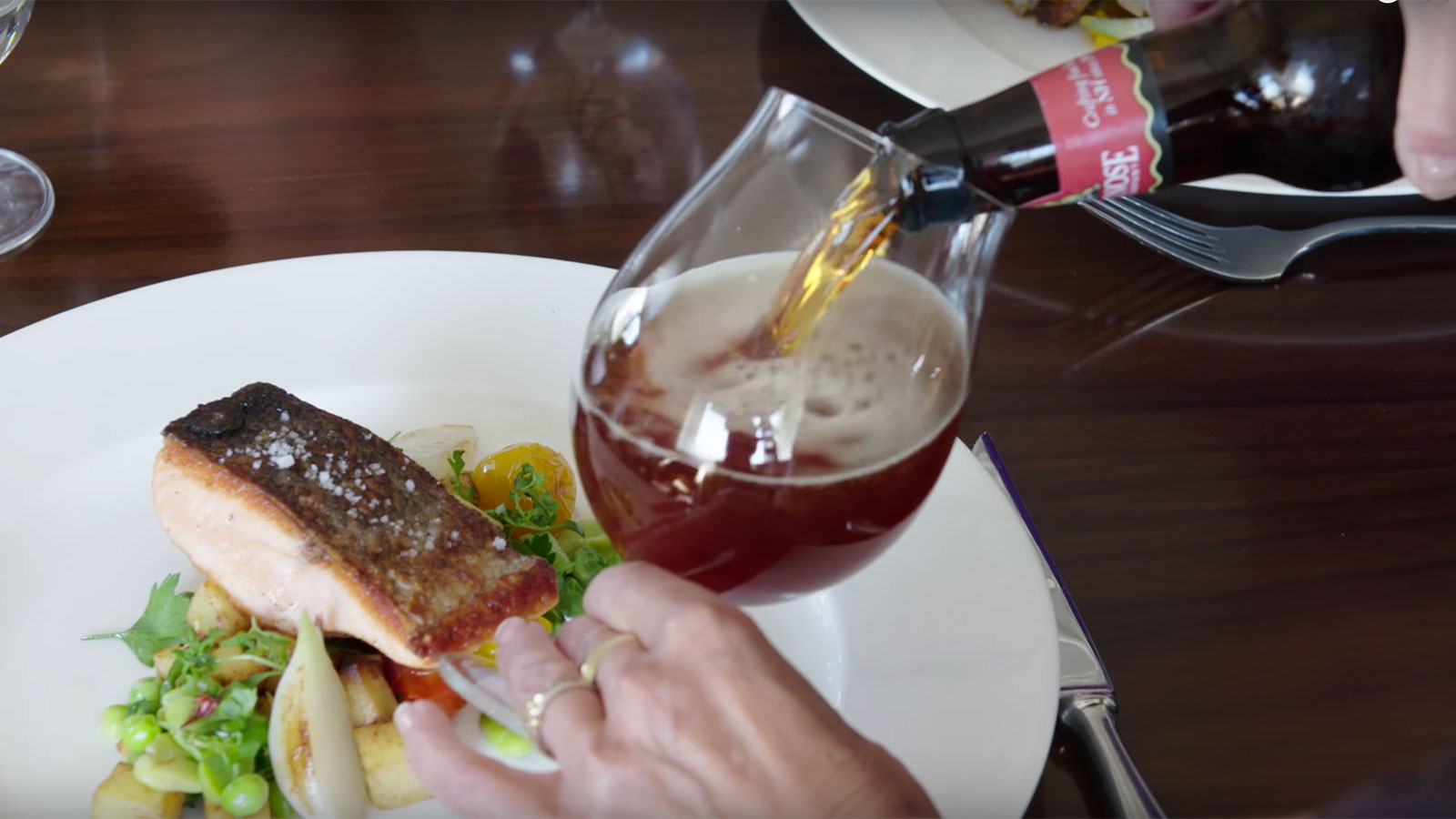 Learn to pair craft beer and food for Craft beer and food