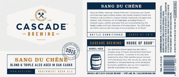 Cascade Bottle Release