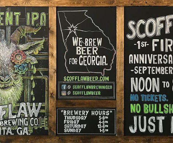 scofflaw brewing anniversary