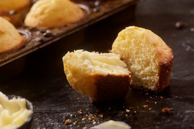 Chipotle Ale Cornbread Muffins
