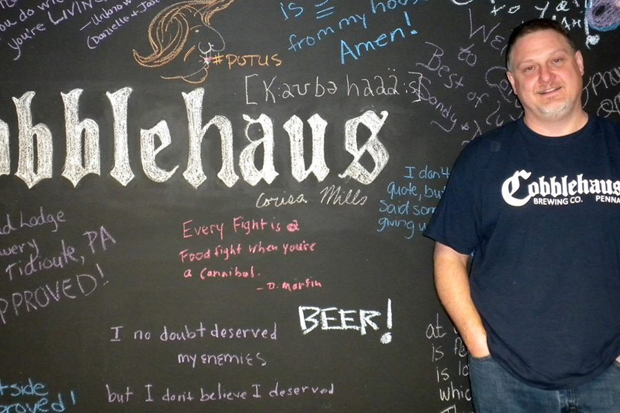 cobblehaus brewing Scott Mills