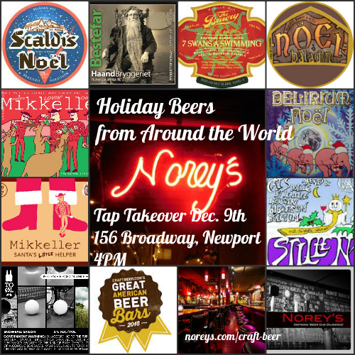 Collage Holiday beers