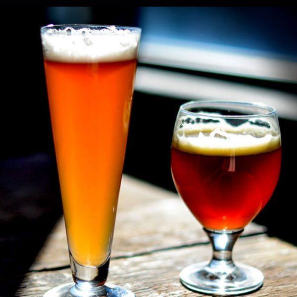 Drink beer fresh