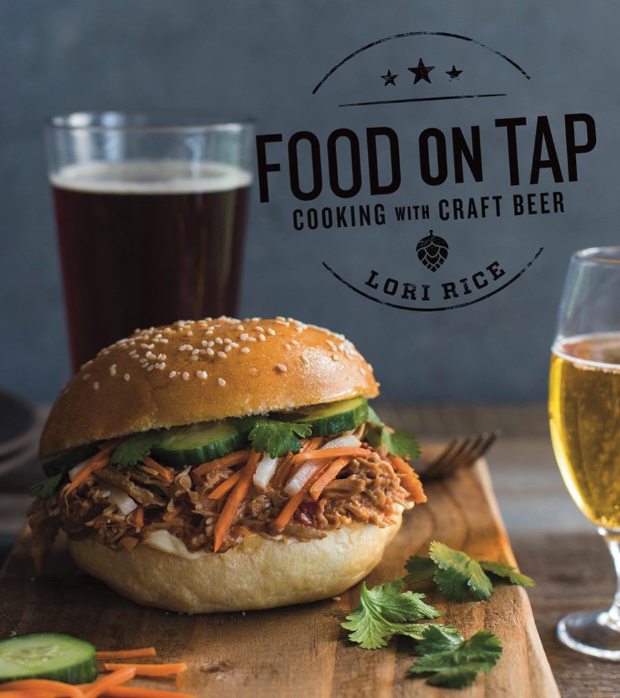 Lori Rice Food on Tap beer cookbook