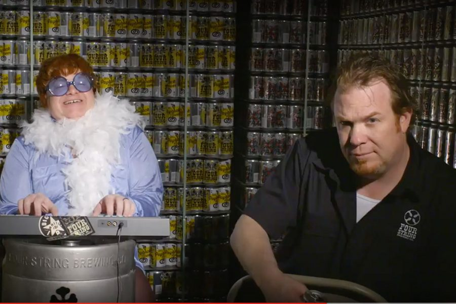 four string brewing rock video