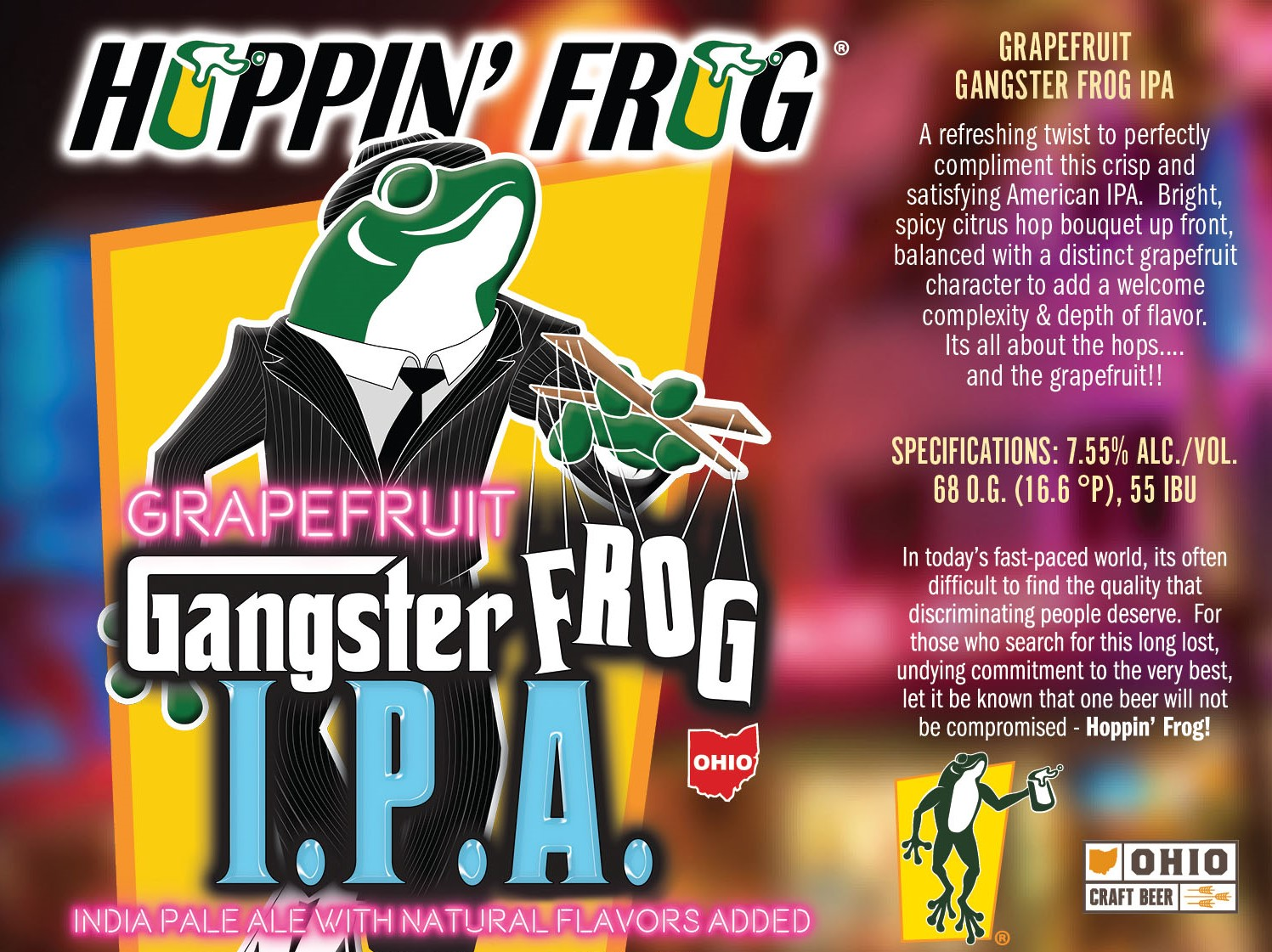 Gangster Frog IPA