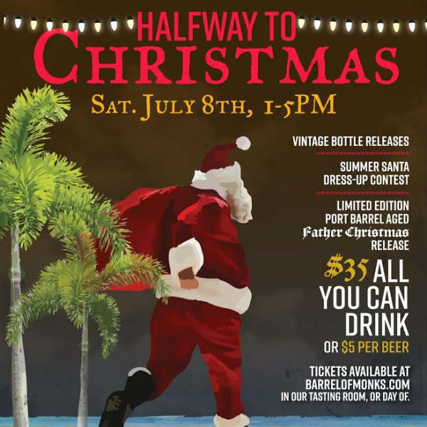 Announcing Barrel of Monks Halfway to Christmas Party