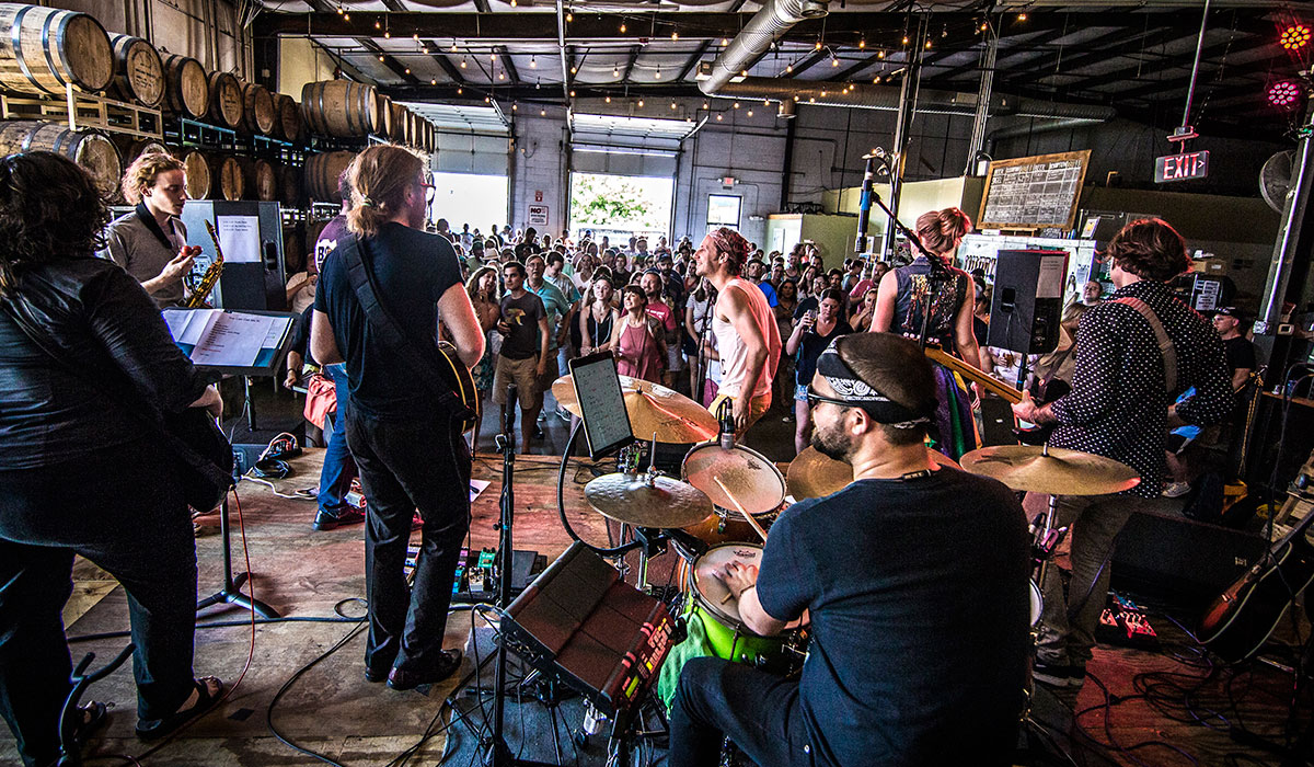 brewery music venues at Hardywood Taproom