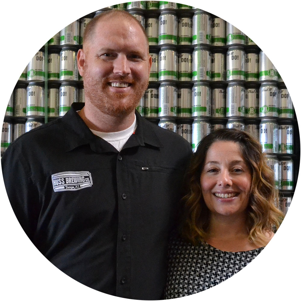 Huss Brewing Brewery Couples