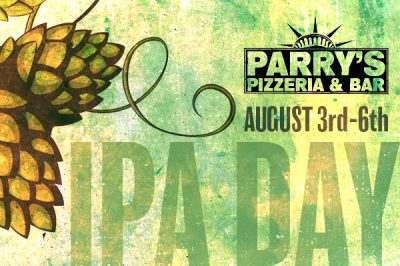 IPA-Day-at-Parrys-Pizza