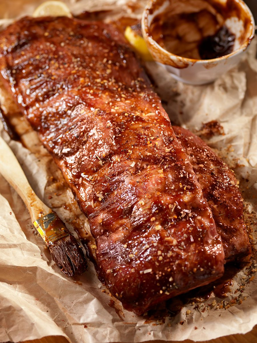 Jeremiah Red Ale Baby Back Ribs