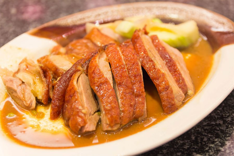 Moroccan Wheat Beer Brined Duck Breast
