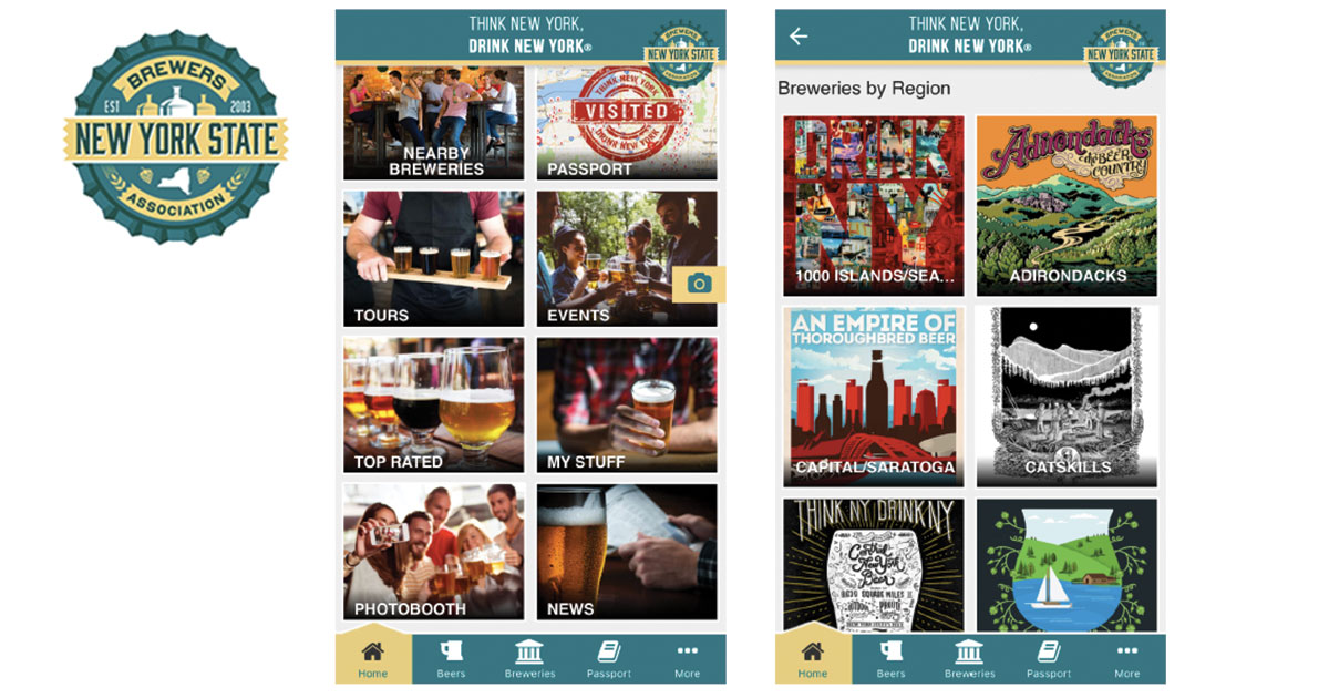New york craft beer app debuts from ny state brewers assoc for New york craft breweries