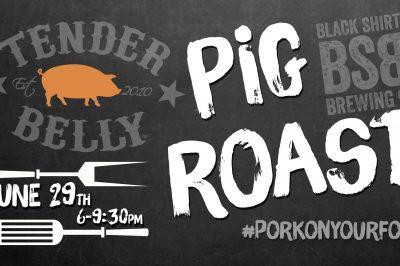 Brewery Pig Roast