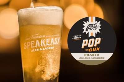Pop Gun Pilsner Oak-aged & Unfiltered - Speakeasy Ales & Lagers