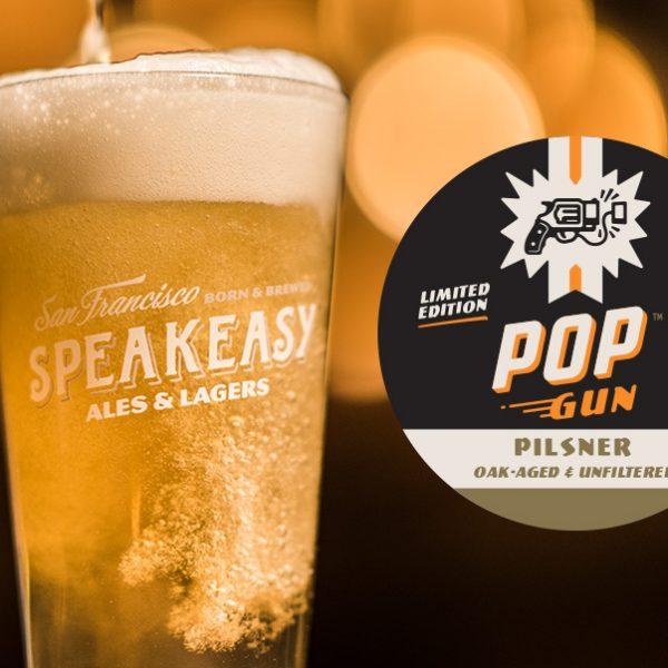 Pop Gun Pilsner Oak-aged & Unfiltered - Speakeasy Ales & Lagers