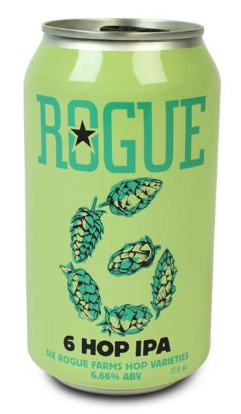Rogue 6Hop Spring Beers