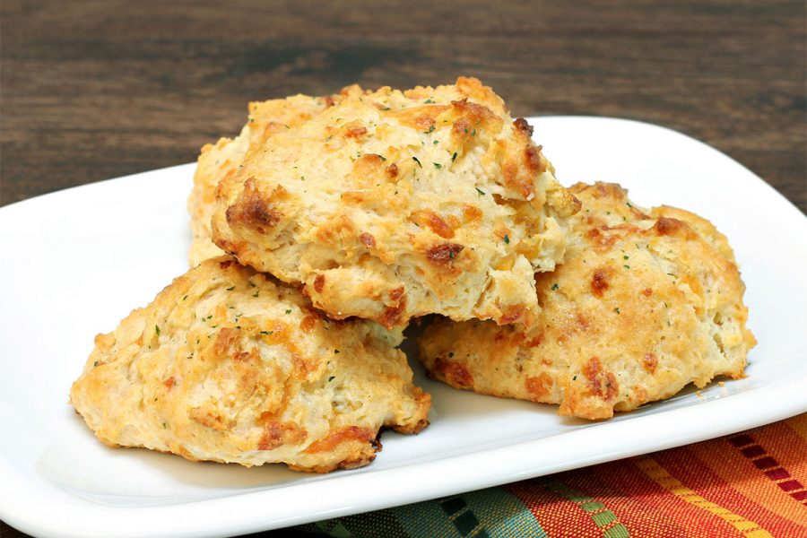 Rosemary and Feta Beer Biscuits