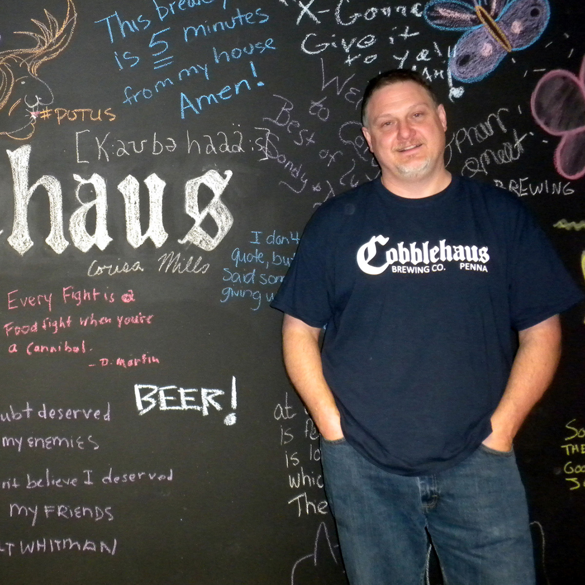scott miller cobblehaus brewing