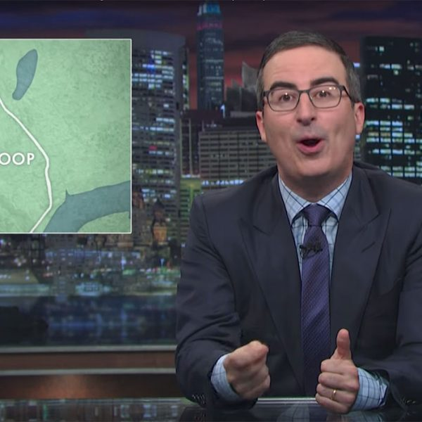 john oliver corporate consolidation